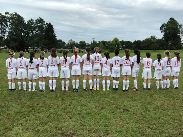 2006 (U-13) GIRLS ADVANCE TO THE EPYS PRESIDENTS CUP FINAL