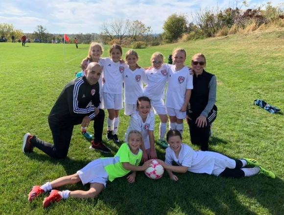 U10's HAVE A GOOD SHOWING AT WESTERN LEHIGH's FALL FEST