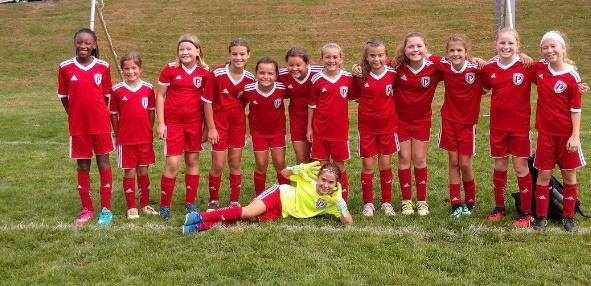 U-11 GIRLS COMPETE AT FALL FEST TOURNAMENT